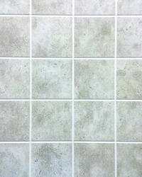 DPI AquaTile 4' x 8' Taupe Stone Bath Tileboard Wall Panel
