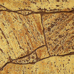 DPI Earth Stones 4' x 8' Umber Stone Hardboard Wall Panel