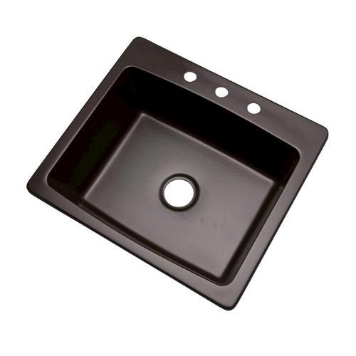 dekor deluxe bridgewood acrylic kitchen sink with quartz