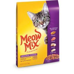 Meow Mix Original Choice Dry Cat Food - 16 lb