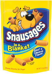 Snausages In a Blanket Beef & Cheese Dog Treats - 12 oz