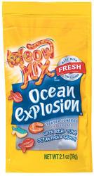 Meow Mix Ocean Explosion Tartar Control Cat Treats - 2.1 oz