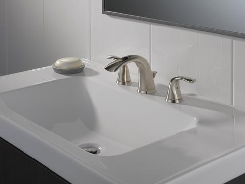 ... ? Nyla? 8 in. 2-Handle High Arc Open Channel Spout Bathroom Faucet