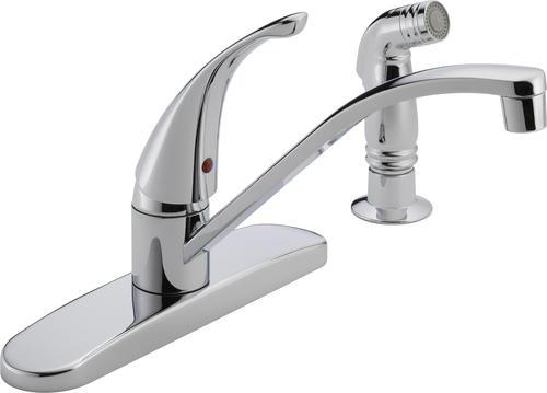 Peerless® 1-Handle Side Sprayer Kitchen Faucet At Menards®