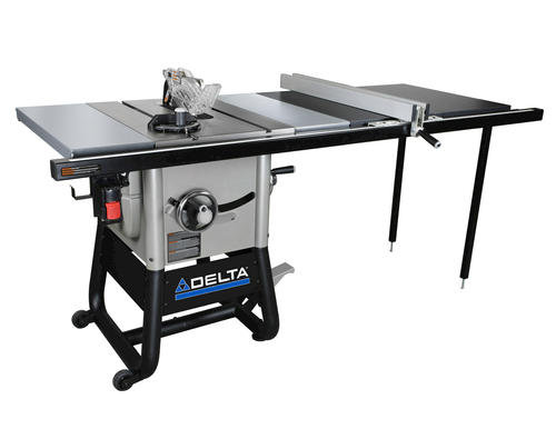 10 left tilt table saw with 52 right rip steel for 52 table saw
