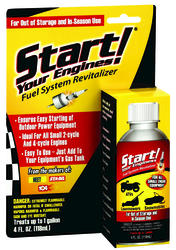 Start Your Engines! Fuel System Revitalizer 4 oz.