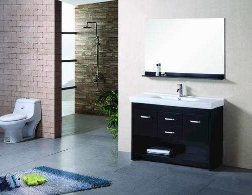 Design element citrus 48 espresso single sink vanity set - Menards bathroom vanities 48 inches ...
