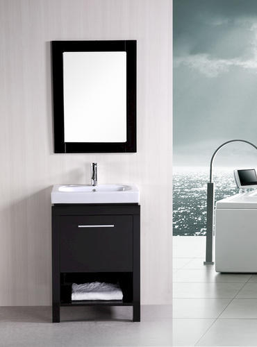 Design Element New York 24 Contemporary Bathroom Vanity Espresso