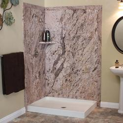 "FlexStone 48""X36""X78"" Elegance 2-Panel Shower Kit"