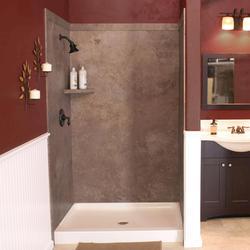 "FlexStone 60""X60""X78"" Adaptable Shower Kit"