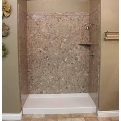 "FlexStone 60""X36""X78"" Royal 3-Panel Tub Or Shower Kit"