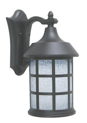"Patriot Lighting Coventry 15.55"" H Black Outdoor Wall Light"