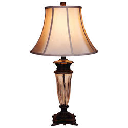 "Patriot Lighting Elegant Home Cynthia 1-Light 33"" H Bronze Table Lamp"