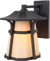 "Patriot Lighting Elegant Home Oak Park 11.5"" H Bronze Outdoor Wall Light"
