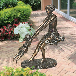 Swing Time Statue