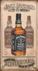 Desperate Enterprises Jack Daniel's - Charcoal Sign