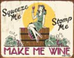 Desperate Enterprises Moore - Make Me Wine Sign