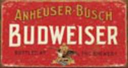 Desperate Enterprises Budweiser - Weathered Sign