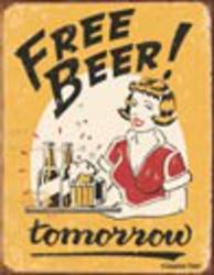 Desperate Enterprises Moore - Free Beer Sign