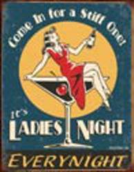 Desperate Enterprises Moore - Ladies Night Sign