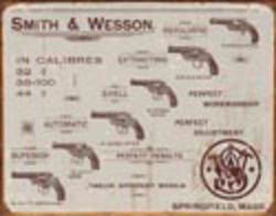 Desperate Enterprises S&W - Revolvers Sign