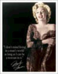 Desperate Enterprises Marilyn - Man's World Sign