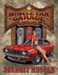Desperate Enterprises Legends - Muscle Car Garage Sign