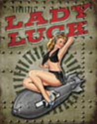 Desperate Enterprises Legends - Lady Luck Sign
