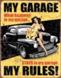 Desperate Enterprises Legends - My Garage Sign