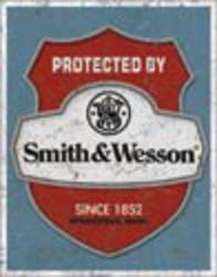 Desperate Enterprises Smith & Wesson - Protected By Sign