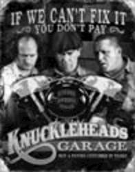 Desperate Enterprises Stooges - Knuckleheads Garage Sign