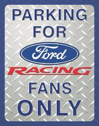 Desperate Enterprises Ford Racing Sign