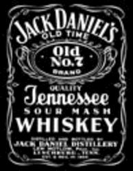 Desperate Enterprises Jack Daniels Black Sign