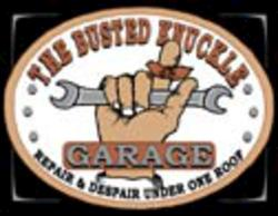 Desperate Enterprises Busted Knuckle Garage Sign