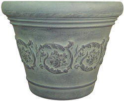 "13"" Toscano Resin Pot (Assorted Styles)"