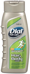 Dial for Men ISO Fresh Sport Hair and Body Wash - 16 oz.
