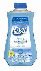 Dial Complete Spring Water Foaming Antibacterial Hand Wash Refill - 32 oz.