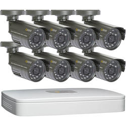 Q-See 8-Channel 2CIF DVR with (8) 480TVL Resolution Cameras (500 GB Hard Drive)