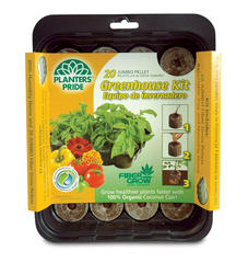 20-Pellet Fiber Grow® Greenhouse Kit