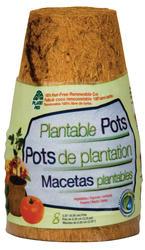 "3-1/4"" Round Fiber Grow® Pots (8-Pack)"