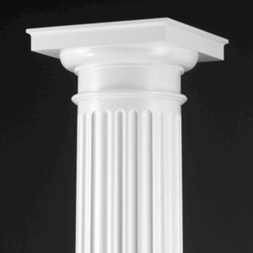Dixie Pacific Duracast 10 X 8 39 Fluted Rnd Column At