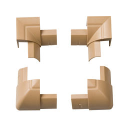 Stainable 1/4-Round Internal and External Bend Pack (4 Pieces)