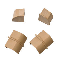 Stainable 1/4-Round Connector and End Cap Pack (4 Pieces)