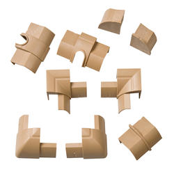 Stainable 1/4-Round Accessory Multipack (9 Pieces)