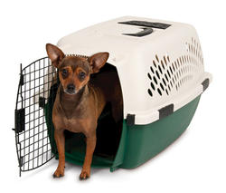 """Ruffmaxx® 24"""" Plastic Pet Carrier"""