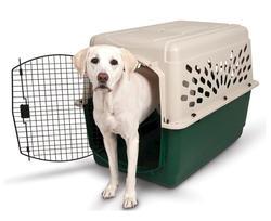 """Ruffmaxx® 40"""" Plastic Pet Carrier"""