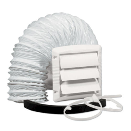 Dundas Jafine Wall Style Bathroom Fan Vent Kit With 4 X 5