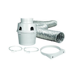 "ProFlex™ Indoor Dryer Vent Kit w/4"" x 5' ProFlex™ Duct"