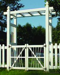 Dura-Trel Courtyard Gate