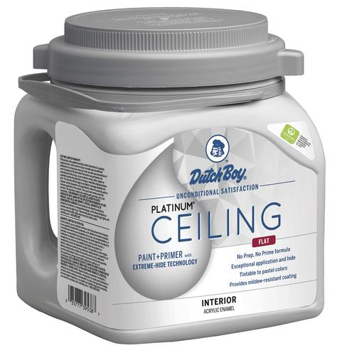 Dutch Boy Platinum Ceiling Interior Latex Paint Primer With Extreme Hide Technology Ultra